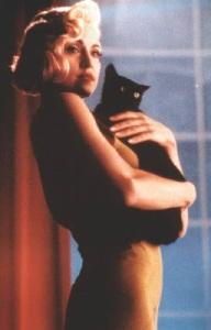 black cat madonna