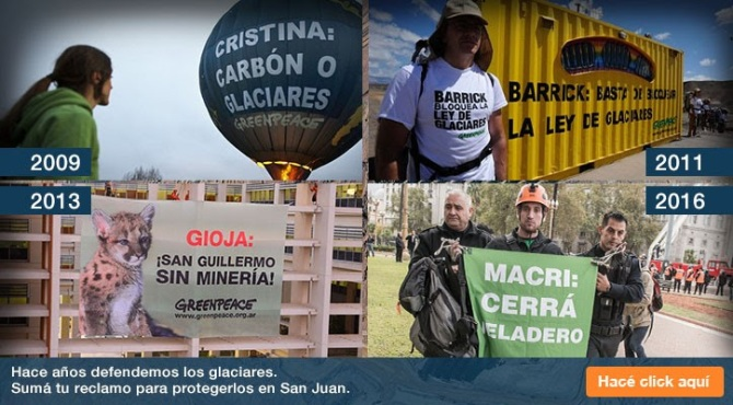 greenpeace megamineria